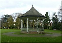 SK7519 : New Park bandstand by Alan Murray-Rust