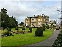 SK7519 : Memorial Gardens and Egerton Lodge, Melton Mowbray by Alan Murray-Rust