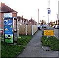 SJ7054 : London Midland advert on a BT phonebox, Crewe by Jaggery