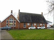 SK7519 : The old British School, Norman Way, Melton Mowbray by Alan Murray-Rust