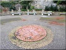 NZ0416 : Public art at the Roman Way Picnic Site by Oliver Dixon