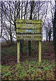 SP0575 : Forhill Picnic Place sign, Forhill, Worcs by P L Chadwick