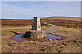 SO2436 : Hay Bluff trig point by Ian Capper