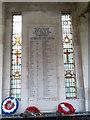 SE1147 : Ilkley - World War 2 memorial plaque by Stephen Craven