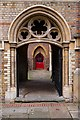 TQ3382 : Passage to former clergy-house, Church of St Michael by Julian Osley