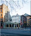 TQ3182 : Greek restaurant, Rosebery Avenue by Julian Osley