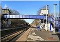 SJ9689 : Marple Station platform 2 by Gerald England