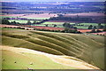 SU2986 : The Giant's Stair from Uffington Castle by Jeff Buck