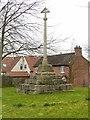 SK8237 : Muston Village Cross by Alan Murray-Rust