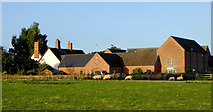 SJ7626 : Shebdon Farm in Staffordshire by Roger  Kidd