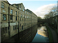 SE2535 : The old Kirkstall brewery (with reflection) by Stephen Craven