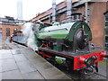 SJ8397 : Saddle tank locomotive by Bob Harvey