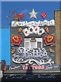 TQ2884 : Tattoo shop, Camden Town by Julian Osley