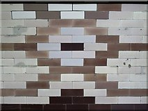 TQ3084 : Caledonian Road tube station - ceramic tiles (2) by Mike Quinn