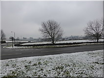 SK1576 : Light snow by Bob Harvey