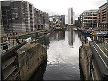 SE3032 : Clarence Dock, Leeds (2) by Stephen Craven