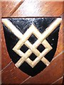 TQ3938 : St Swithun, East Grinstead: heraldic shield (47) by Basher Eyre