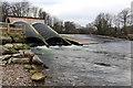 SX8061 : River Dart hydroelectric station, Totnes by Chris Allen