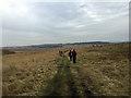 SK2774 : Walkers on the south of Big Moor by John Allan