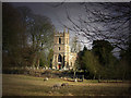 SU0671 : Stormy Light on Yatesbury Church by Des Blenkinsopp