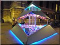 TL4458 : Liter of Light - Peas Hill, Cambridge; e-Luminate 2017 by Richard Humphrey