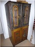 TQ0044 : Holy Trinity, Bramley: safes by Basher Eyre