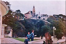 SH5837 : Portmeirion from Hotel terrace by Chris Morgan