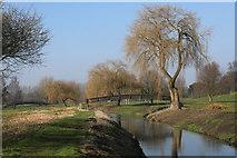 TL8467 : Two bridges over the River Lark by Bob Jones