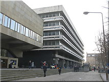 NT2572 : University of Edinburgh Theatre and Main Library  by M J Richardson