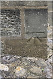 SE0446 : Benchmark on St James's Church by Roger Templeman