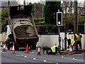 H4572 : Footpath repairs, Dublin Road, Omagh by Kenneth  Allen