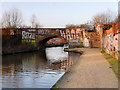 SJ8297 : Bridgewater Canal, Cornbrook Bridge by David Dixon