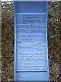 ST6771 : Railway path marker by Neil Owen