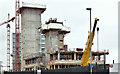 J3474 : City Quays hotel site, Belfast - February 2017(2) by Albert Bridge
