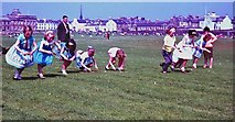 NS3321 : Egg and spoon race on the Low Green, Ayr by Alan Reid