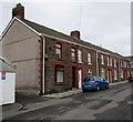SS8690 : Row of stone houses, Duke Street, Maesteg by Jaggery