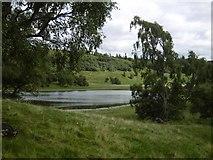 NN6795 : Lochain Uvie by Richard Webb