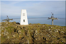 SH7683 : Trig point on the Great Orme by Bill Boaden