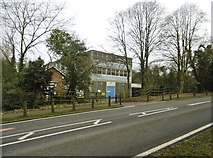 SP2778 : Tile Hill, telephone exchange by Mike Faherty