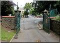 ST3087 : Belle Vue Park entrance gates, Newport by Jaggery