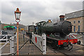SX7863 : Staverton arrival - South Devon Railway by Chris Allen