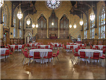 SD8913 : Rochdale Town Hall, The Great Hall by David Dixon