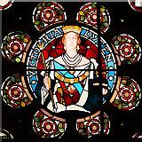 SD8913 : Queen Victoria Window, Rochdale Town Hall by David Dixon