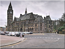 SD8913 : Rochdale Esplanade and Town Hall by David Dixon
