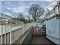 SJ8546 : Newcastle-under-Lyme: subway at Nelson Place by Jonathan Hutchins