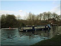 SE3231 : Narrowboat on the Aire & Calder Navigation by Stephen Craven
