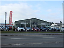 TL4661 : Bentley dealership on Milton Road by JThomas
