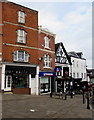 SO5924 : North side of Market Place, Ross-on-Wye by Jaggery