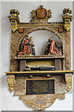 TF6120 : Clarck Memorial, St Nicholas' Chapel, King's Lynn by Julian P Guffogg