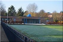 TQ5940 : Bowling Green & Hub, Grosvenor Park by N Chadwick